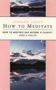 image of How to meditate
