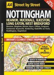 AA Street by Street Nottingham Midi Local (AA Street by Street Atlases)