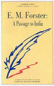 E.M.Forster: A Passage to India (Casebooks Series)
