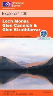 image of Loch Monar, Glen Cannich and Glen Strathfarrar (Explorer Maps)