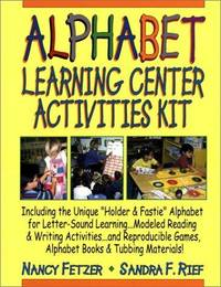 Alphabet Learning Center Activities Kit