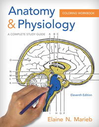 image of Anatomy & Physiology Coloring Workbook: A Complete Study Guide (11th Edition)