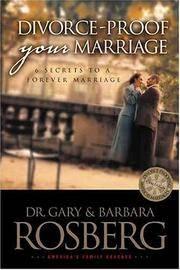 Divorce-Proof Your Marriage  6 Secrets to a Forever Marriage