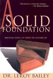 A Solid Foundation: Building Your Life from the Ground Up