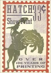 Hatch Show Print Rodeo Journal