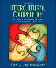 image of Intercultural Competence: Interpersonal Communication Across Cultures (4th Edition)