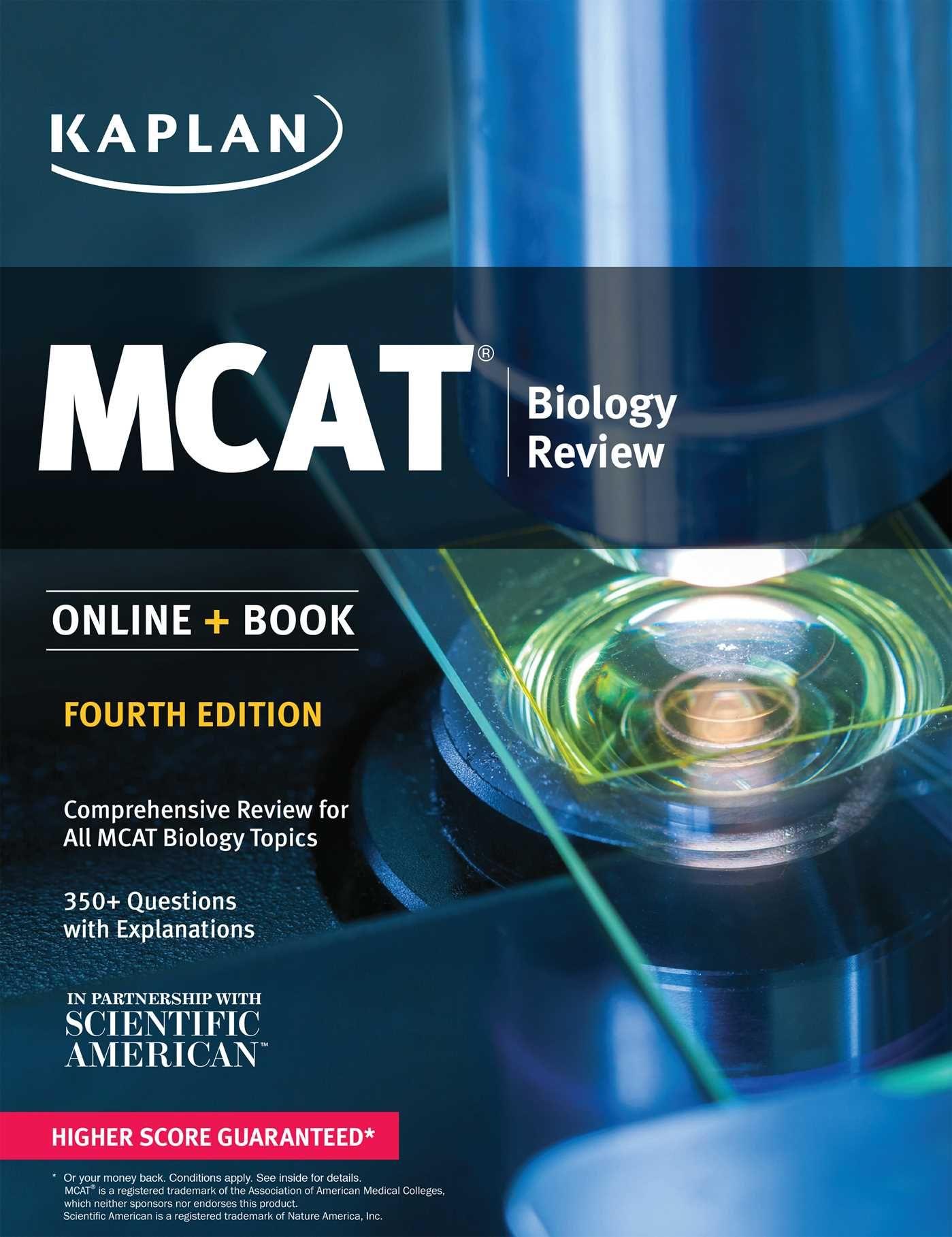9781506223773 - MCAT Biology Review 2018-2019: Online + Book (Kaplan