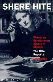 Women as Revolutionary Agents of Change: The Hite Reports 1972 - 1993 by  Shere Hite - Paperback - First Edition - 1993 - from Compass Books and Biblio.co.uk