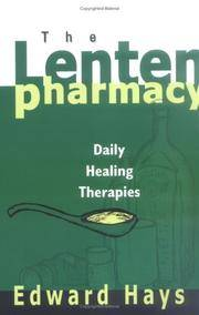 The Lenten Pharmacy