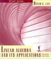 image of Linear Algebra and Its Applications : Study Guide