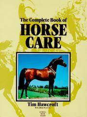 Complete Book Of Horse Care