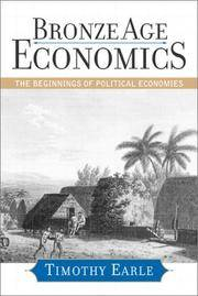 Bronze Age economics. The beginnings of political economics.