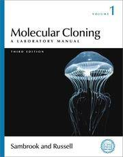 Molecular Cloning: A Laboratory Manual (3rd Ed) (Volume 1) by Joseph Sambrook - Paperback - 2000 - from Anybook Ltd (SKU: 6408064)