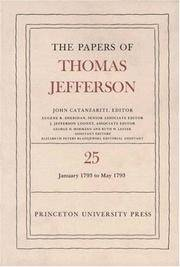 image of Papers of Thomas Jefferson:  Volume 25:  1 January to 10 May 1793.