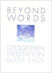 Beyond Words: Dzogchen Made Simple by  Julia Lawless - Hardcover - from Bonita (SKU: 0007116772.X)