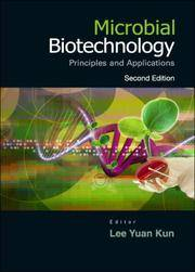 MICROBIAL BIOTECHNOLOGY 2/ED by YAUN KUN - Paperback - 2006 - from A - Z Books and Biblio.com