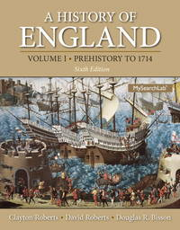 A History of England, Volume 1 by  Clayton Roberts - Paperback - 2013-02-10 - from SGS Trading Inc (SKU: NOCT17-9780205867776-432)