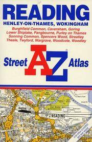 A. to Z. Street Atlas of Reading, Henley-on-Thames, and Wokingham (A-Z Street Atlas)