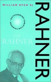KARL RAHNER (OUTSTANDING CHRISTIAN THINKERS)