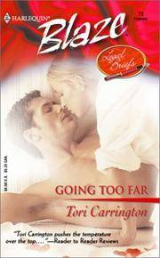 Going Too Far (Harlequin Blaze #73)