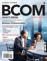 BCOM (with Printed Access Card)