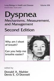 Dyspnea  Mechanisms, Measurement and Management, Second Edition