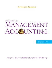 image of Introduction to Management Accounting : Chapters 1-14