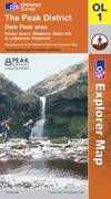 image of The Peak District: Dark Park Area (OS Explorer Map)