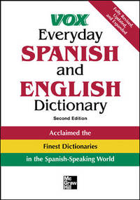 Vox Everyday Spanish and English Dictionary (VOX Dictionary Series) by Vox  - Paperback  - from Discover Books (SKU: 3186022123)