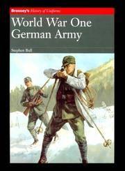 World War One  German Army