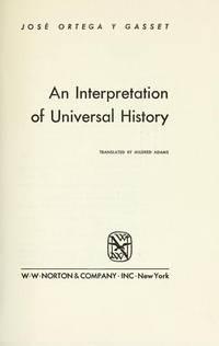 An Interpretation Of Universal History