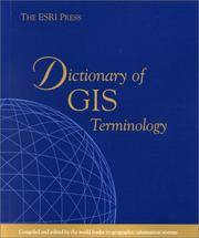 ESRI Press Dictionary of GIS Terminology