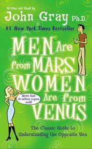 Men Are From Mars, Women Are From Venus (audio cassette)