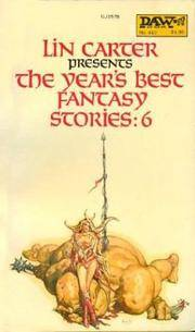 The Year's Best Fantasy Stories: 6