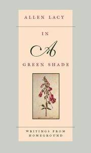In a Green Shade: Writings from Homeground