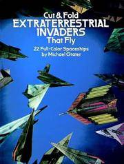 Cut  Fold Extraterrestrial Invaders That Fly