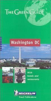 Michelin THE GREEN GUIDE Washington DC, 5e