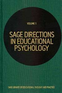 SAGE directions in education psychology; 5v. (Sage library of educational thought and practice)