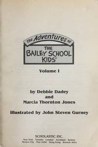 The Adventures of the Bailey School Kids (Volume 1)