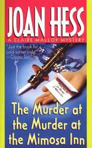 The Murder at the Murder at the Mimosa Inn (A Claire Malloy Mystery)