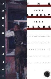 The Lonely Years 1925-1939: Unpublished Stories and Private Correspondence (Verba Mundi (Paperback))