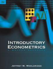 image of Introductory Econometrics: A Modern Approach (with Economic Applications Online, Econometrics Data Sets with Solutions Manual Web Site Printed Access Card)