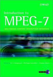 Introduction to MPEG-7 Multimedia Content Description Language by B.S. Manjunath - Hardcover - from Students Textbooks and Biblio.com