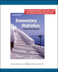 image of Elementary Statistics: A Step by Step Approach (International Edition)