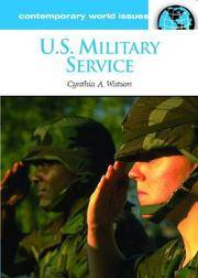 U.S. military service; a reference handbook. (Contemporary world issues)