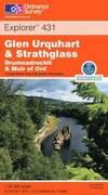 image of Glen Urquhart and Strathglass (OS Explorer Map Active)