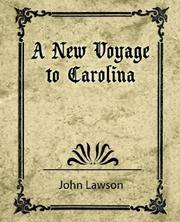 image of A New Voyage to Carolina