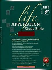 Life Application Study Bible NLT (Life Application Study Bible: New Living Translation-2)