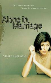 image of Alone in Marriage: Encouragement For the Times When It's All Up to You