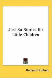 image of Just So Stories for Little Children